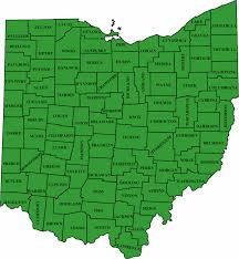 Ohio County Map by Maps Know Dayton