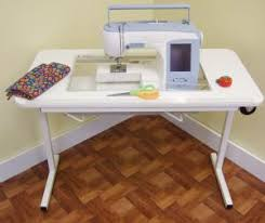 portable sewing machine table arrow sew much more 98611 gidget 2 white 1size fits portable sewing