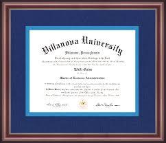 harvard diploma frame villanova diploma frame talking walls