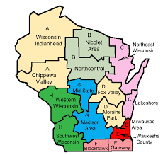 Map Of Wisconsin by Board U2013 Wtea Wis Org