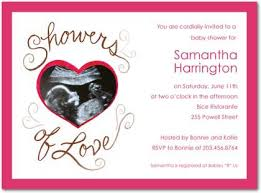 baby shower invitations personalized with a photo baby photo