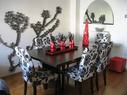 dining room small vase with flowers tile top room table