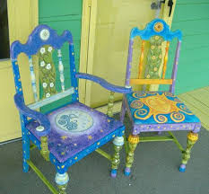 painted chairs images best 25 hand painted chairs ideas on pinterest painted chairs