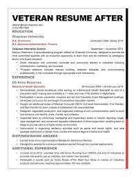 Resume Builder Military To Civilian Military Resume Examples To Civilian Exam Saneme