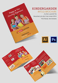 brochure templates ai free 21 kindergarten brochure templates free psd eps ai indesign