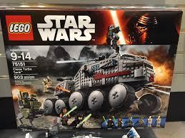 lego star wars summer 2016 sets clone turbo tank 75151 brick toy