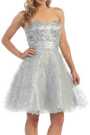 silver dresses cheap silver formal dresses discountdressup store