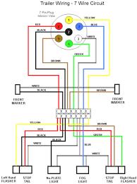 wiring diagrams trailer light connector 4 way 7 fine prong diagram