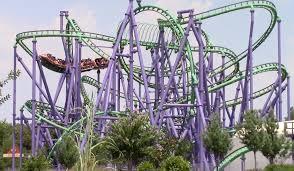 Six Flags Poltergeist Joker U0027s Jinx Off Ride Six Flags America Hd 60fps Youtube