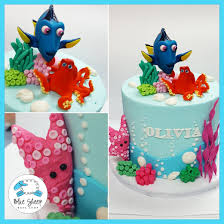 finding dory cake blue sheep bake shop