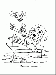cute dog coloring pages printable coloring pages