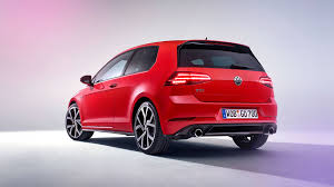 volkswagen red vw golf gti 2017 mk7 facelift review by car magazine