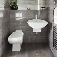 Grey Tile Bathroom Designs Awesome Design E Grey Tile Bathrooms