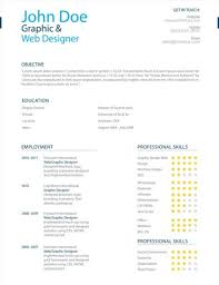 Resume With Color 25 Superb Resume Templates