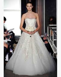 winter wedding dresses 2010 oscar de la renta 2010 collection martha stewart weddings