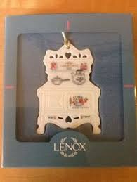 Lenox Christmas Ornaments 1995 by Lenox 1990 Holiday Homecoming Collection Hutch Ornament Lenox
