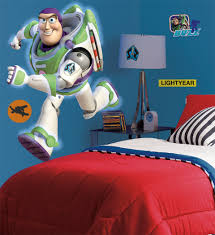 collections movies comics wallwall toy story buzz lightyear giant wall decals glow the dark
