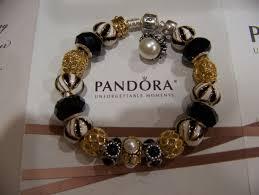 black pandora charm bracelet images Pandora bracelet with charms collection on ebay jpg