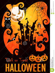 halloween poster template stock vector image 59359415