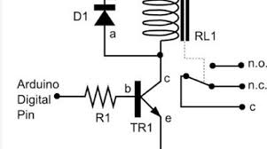 connecting a relay to arduino make