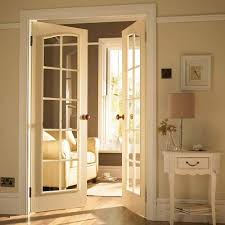 Sound Dening Interior Doors Soundproof Interior Glass Door Can Be Transparent Of Etched