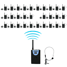 tour guide headset system aliexpress com buy tp wireles 2 4ghz audio tour guide system