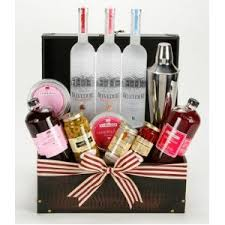 mel the belvedere martini cosmo set 2bottles gift baskets