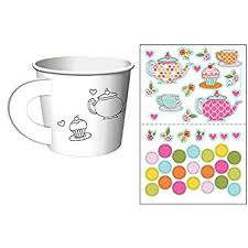 decorate your own tea cup tea time tea party decorate your own favor cups 6 ct