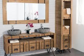 deco bois brut indogate com decoration salle de bain bois