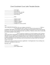 Monster Cover Letter Event Manager Cover Letter Resume Docoments Ojazlink