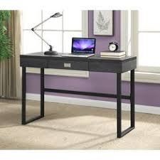 Computer Desk Glass Trade Me 48 In Black Glass Metal Computer Desk Overstock Shopping