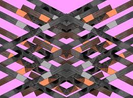 Kitch by Aztec Tribal Geometric Textile Pattern Vasare Nar Motif Textile