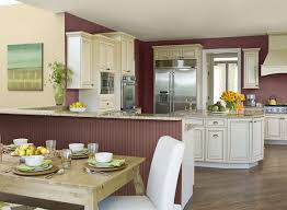 Kitchen Wainscoting Ideas Red Kitchen Ideas Earthy Organic Red Kitchen Paint Color Schemes