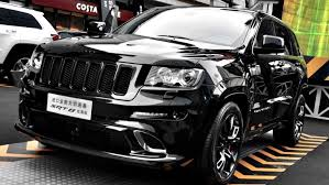 jeep cherokee black 2015 chrysler launches jeep grand cherokee srt8 black edition in china
