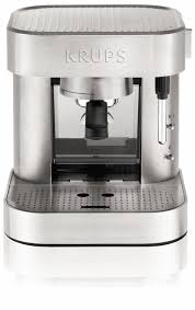 krups xp601050 manual pump espresso machine review