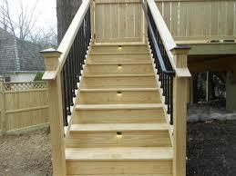 smart deck stair lights u2014 new home design ideas for deck stair
