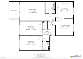 download sample floor plan u0026 square footage u2013 matterport help