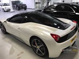 white 458 spider 458 spider 2013 4 5 in kuala lumpur manual convertible