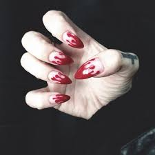 best 25 vampire nails ideas on pinterest halloween nail art