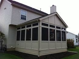 covered porch pictures screen porches columbus u2013 columbus decks porches and patios by