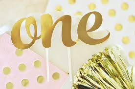 gold cake topper one birthday gold cake topper plan my bash