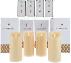 halloween flameless candles flameless candles u2014 home u0026 garden u2014 qvc com