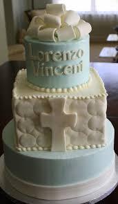 claudine simple elegant boys baptism cake