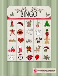 printable christmas bingo cards pictures free printable christmas bingo
