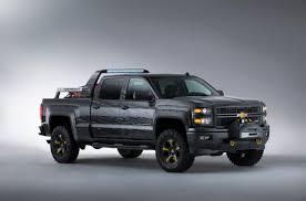 Chevy Silverado Truck Accessories - silverado black ops concept is the ultimate survival truck