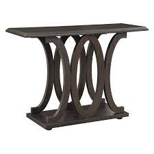 sofa c table amazon com coaster home furnishings 703149 casual sofa table