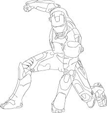 iron man coloring coloring page