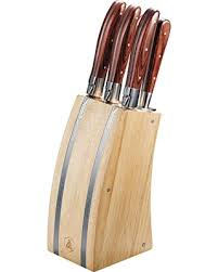 laguiole kitchen knives great deals on laguiole 5 kitchen stainless knife block set