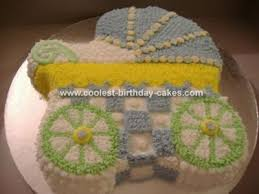 baby carriage cake coolest bassinet stroller cakes