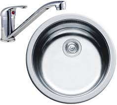Round Kitchen Sink Waste  Tap Mm Diameter Pyramis PYSINKTAP - Round sink kitchen